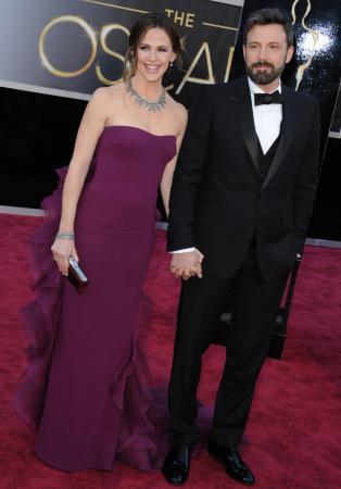 Jennifer Garner (45) en Ben Affleck (45)