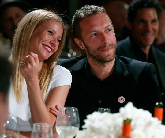 Gwyneth Paltrow (45) en Chris Martin (40)