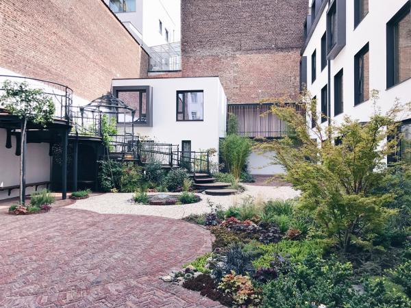 Le jardin caché