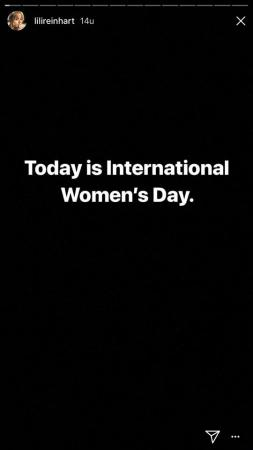 Today is International Women's Day