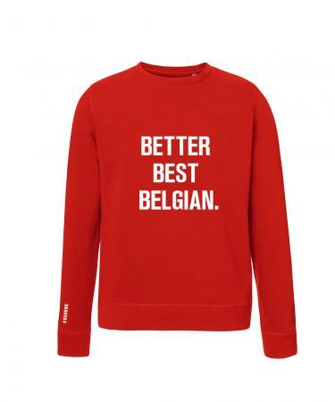 BETTER BEST BELGIAN SWEATER