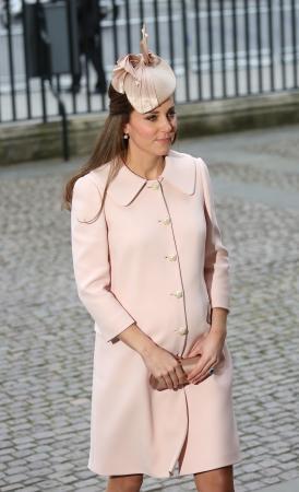 Zwanger van prinses Charlotte: in maart 2015