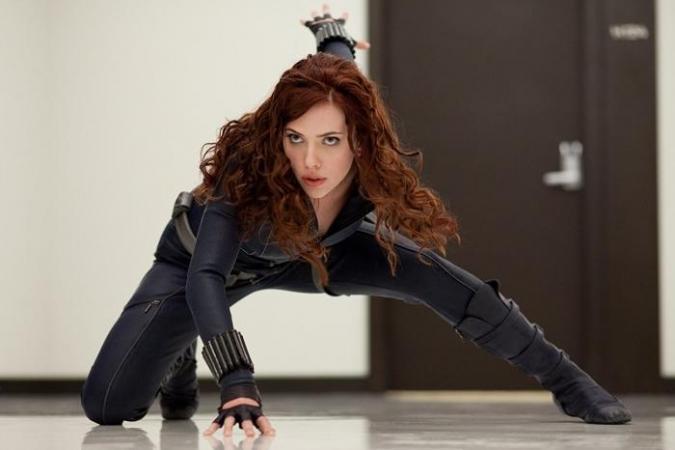 Scarlett Johansson als Natasha Romanoff / Black Widow in de 'Marvel'-films