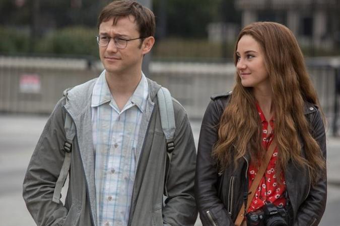 Shailene Woodley als Lindsay Mills in 'Snowden'