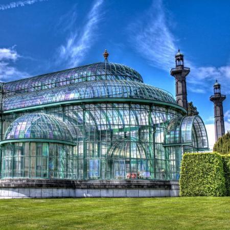 Visiter les Serres Royales de Laeken