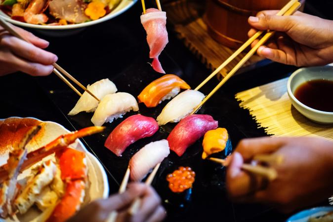 Participer au festival du sushi à Hasselt