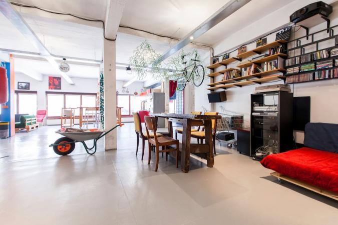 Un loft ouvert et ultra-moderne – Bruxelles
