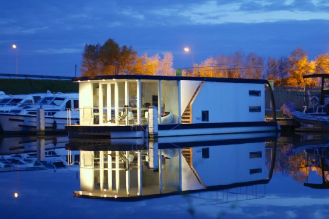 Une maison sur l'eau – Nieuport