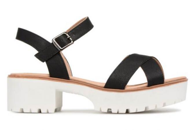 Sandales à plateforme MTNG