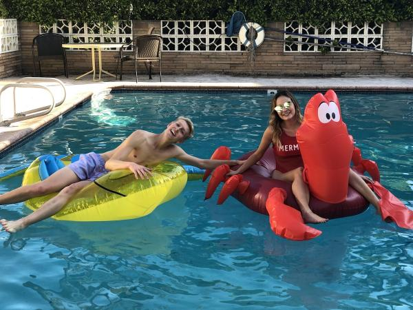 The Little Mermaid Pool Party