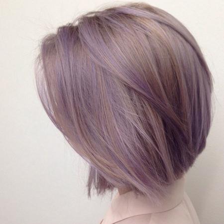 7. Ashy violet