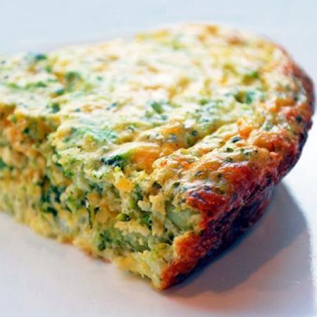 Glutenvrije quiche met broccoli