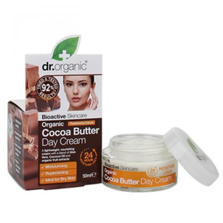 Dr. Organic Cocoa Butter Dagcrème