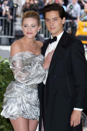 Cole Sprouse en Lili Reinhart