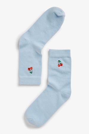 Babyblauwe sokjes