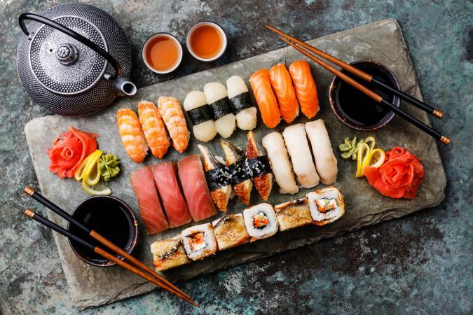 Rauwe vis, sushi of gerookte vis
