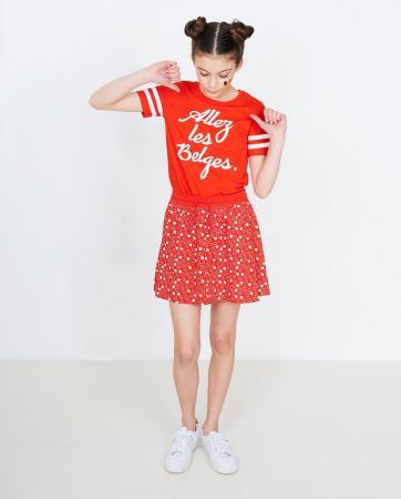 T-shirt fille «Allez les Belges»