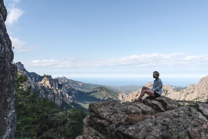 5. Hiken bij de Col de Bavella