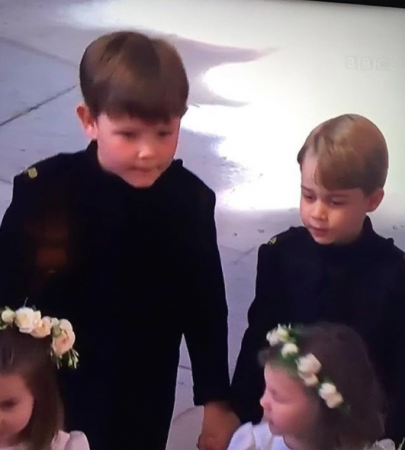 Royal wedding: George en Charlotte