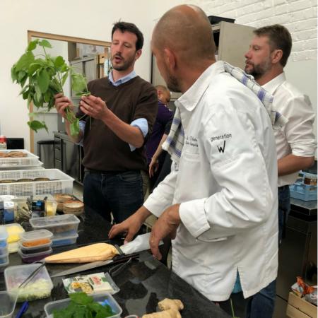 En cuisine avec Olivier Bourguignon