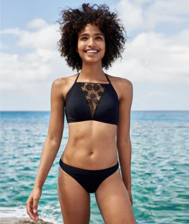 Bikini empiècement en dentelle – Etam