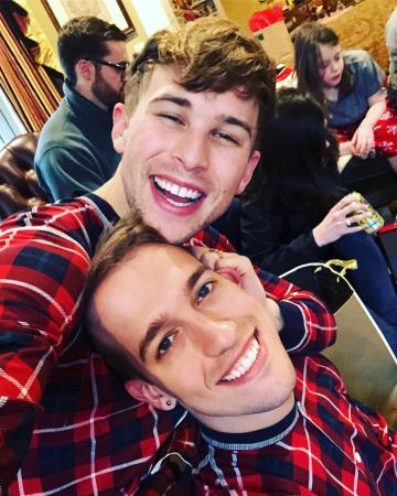 Tommy Dorfman (Ryan) en Peter Zurkuhlen