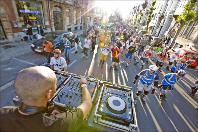 3. Wiko Roller Bike Parade – juni tot september
