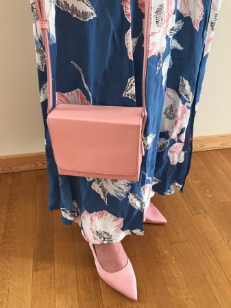 Handtas 2: roze boxtasje