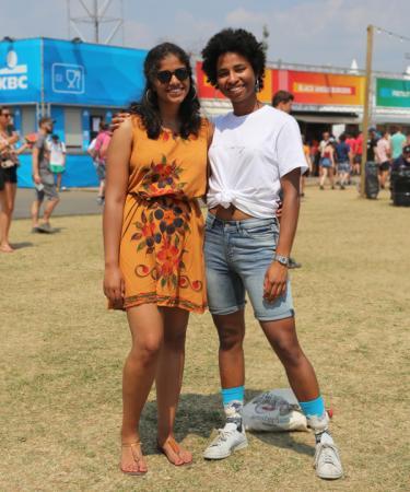 Prakrita (20) en Korin (19)