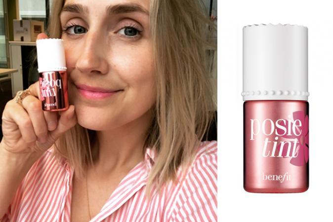 Posie tint van Benefit in Poppy Pink