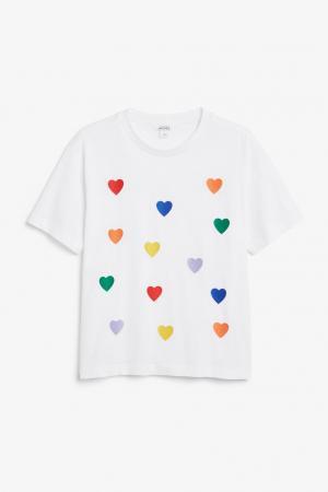 T-shirt cœurs