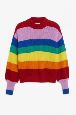 Pull-over multicolore