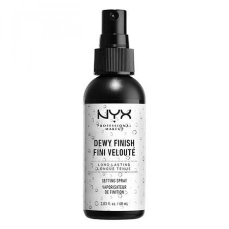 1. Dewy Finish Setting Spray van NYX Cosmetics