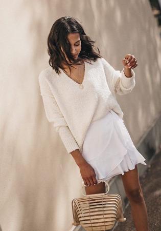 4. Witte rok