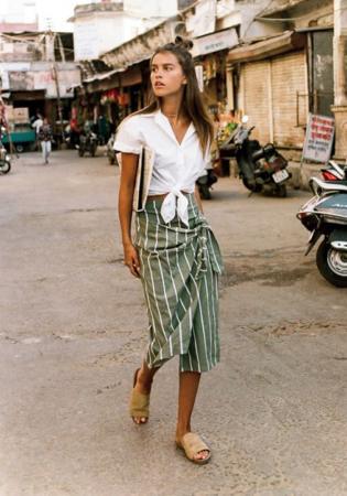 6. Wrap skirt