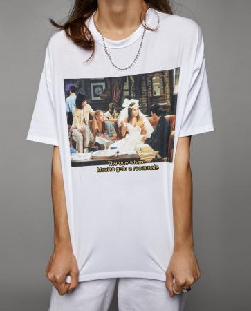 T-shirt 'The One Where Monica Gets a Roommate'