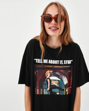 T-shirt 'Tell me about it, stud'