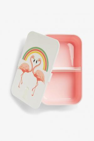 Boîte à tartines flamants roses