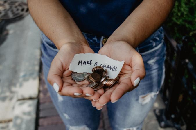 Aan een goed doel doneren