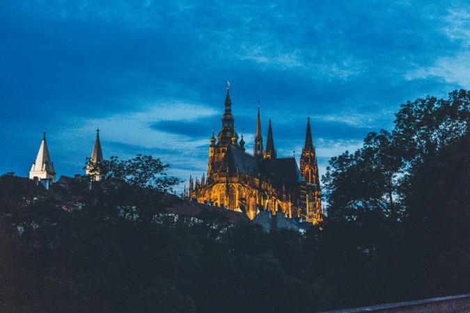 Rondhangen in Praag