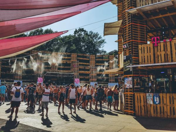 Muziekmarathon in Sziget