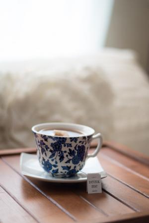 Kopje (cafeïnevrije) thee