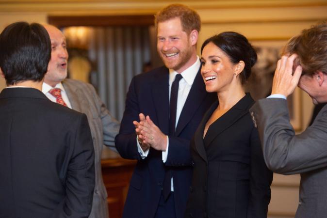 Prins Harry en Meghan Markle wonen musicalvoorstelling 'Hamilton' bij in Londen