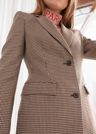 Bruine blazer