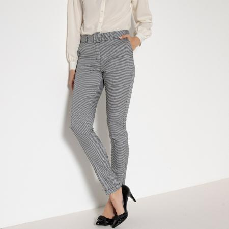 Zwart-witte pantalon
