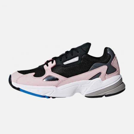 Adidas Originals Falcon Noir/Rose pâle
