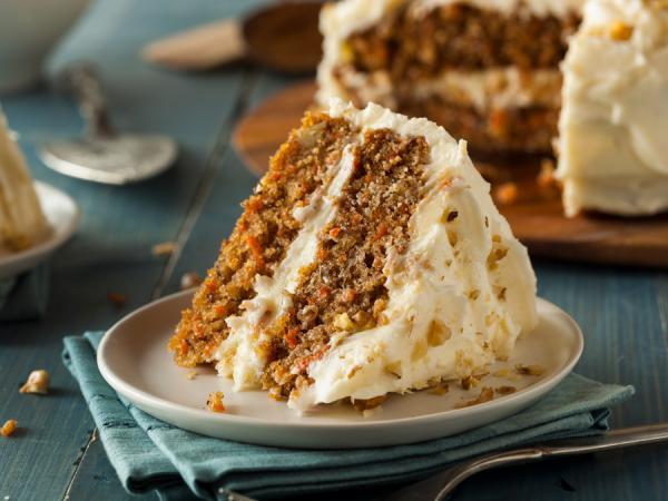 Stuk carrot cake