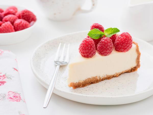 Stuk cheesecake