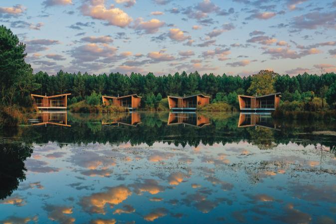 De Mooiste Vakantiehuizen : Van de mooiste vakantiehuizen middenin de natuur
