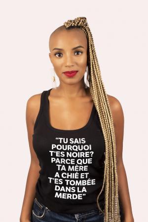 Yvoire, 30 ans, anthropo-sociologue, présentatrice et afro-féministe